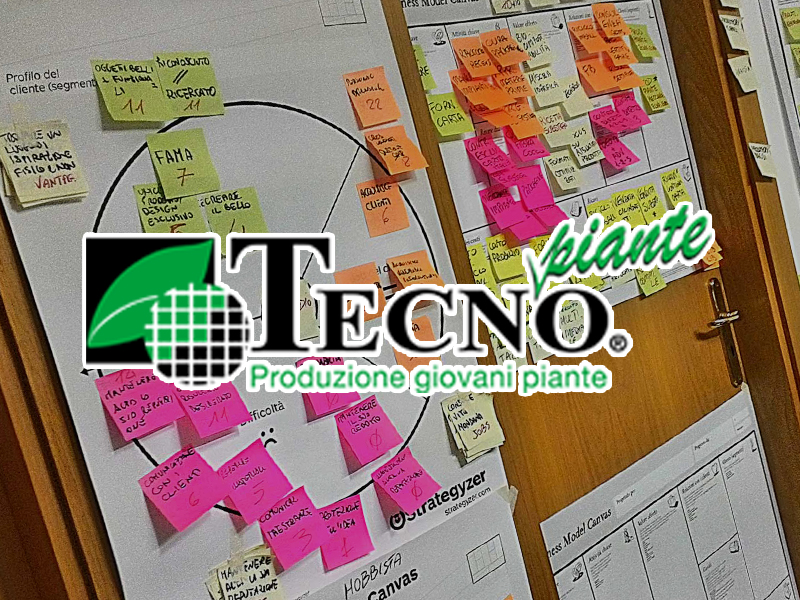 Logo Tecnopiante Sito Web e Business Design Vincente